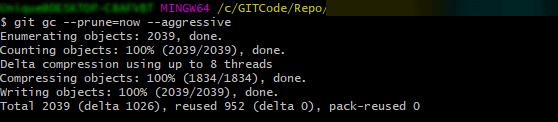 Git GC Command - Git power tips