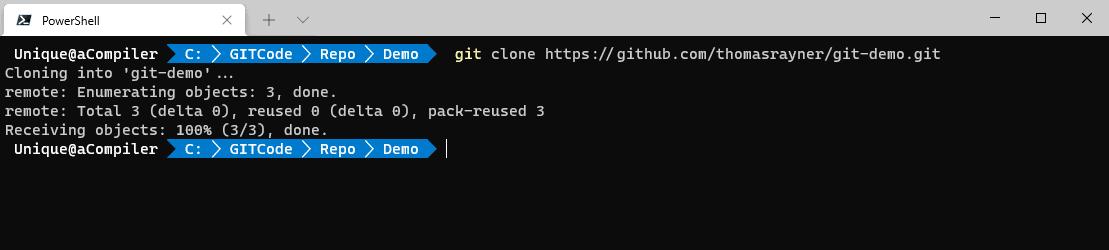 Git Clone Command - Git in PowerShell